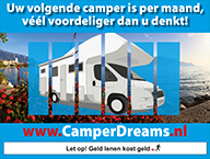 Financiering CamperDreams.nl
