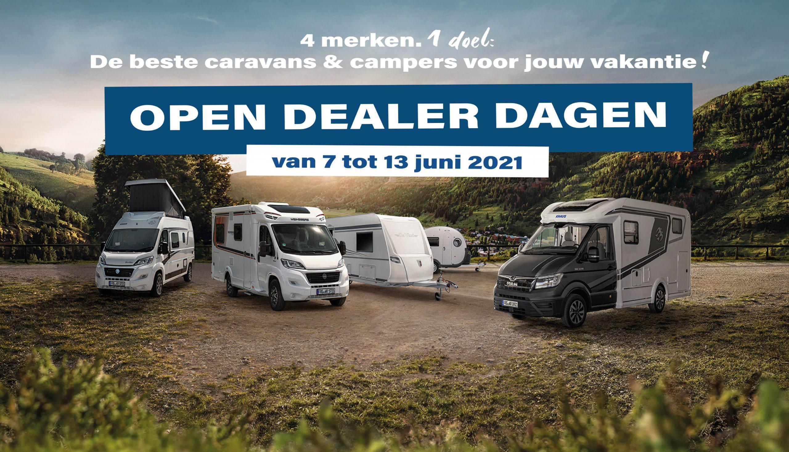 Open dealer dagen 7 tot 13 juni
